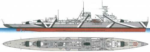 DKM Nurnberg [Light Cruiser] (1941)