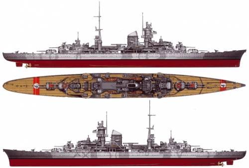 DKM Prinz Eugen (Heavy Cruiser)