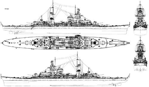 DKM Prinz Eugen (Heavy Cruiser) (1940)