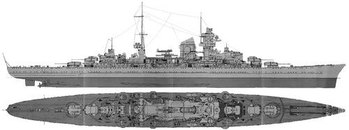 DKM Prinz Eugen (Heavy Cruiser) (1941)