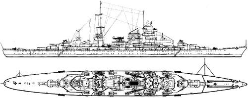 DKM Prinz Eugen (Heavy Cruiser) (1942)