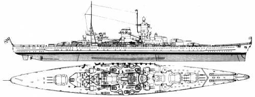 DKM Scharnhorst (Battlecruiser)