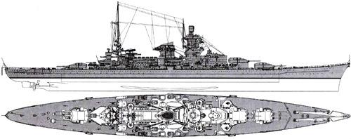 DKM Scharnhorst (Battlecruiser) (1943)