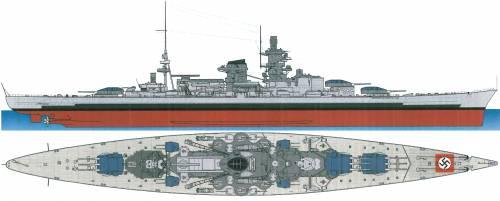 DKM Scharnhorst [Battleship] (1940)