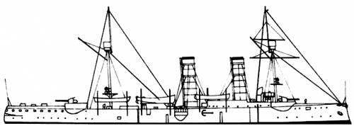 RN Dogali (Cruiser) (1899)