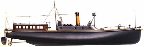 IJN 17m 150hp Motor Boat