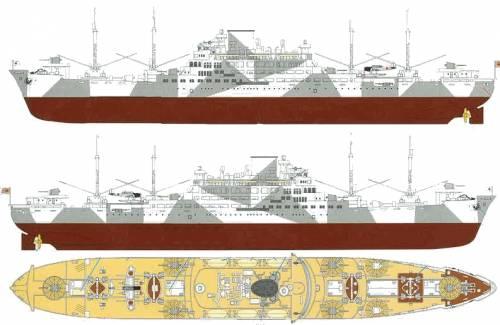 IJN Aikokumaru (Auxillary Cruiser) (1942)