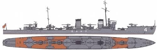 IJN Akikaze (Destroyer)