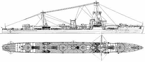 IJN Akikaze [Destroyer] (1941)