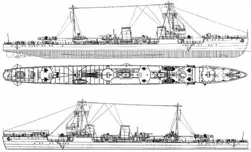 IJN Akikaze [Destroyer] (1944)
