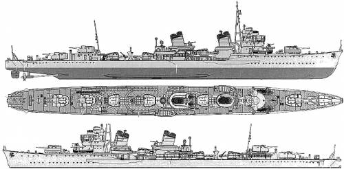 IJN Amagiri (Destroyer)