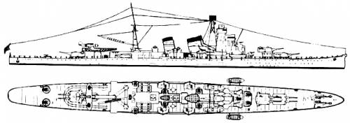 IJN Aoba (Heavy Cruier)