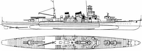 IJN Aoba [Heavy Cruiser] (1941)