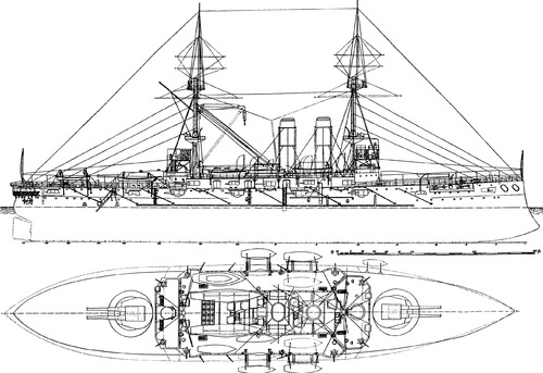 IJN Asahi (Battleship) (1900)