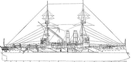 IJN Asahi (Battleship) (1905)