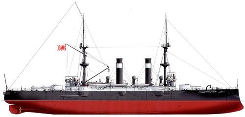 IJN Asama (Armoured Cruiser) (1902)