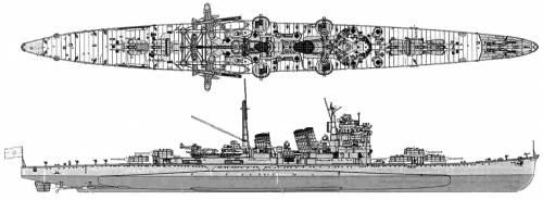 IJN Ashigara (Heavy Cruiser) (1944)