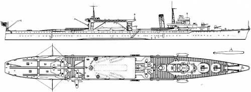IJN Chiyoda (Seaplane-Midget Submarine Carrierl)