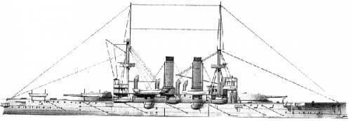 IJN Fuji (Battleship) (1905)