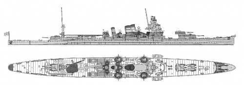 IJN Furutaka (Heavy Cruiser)