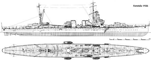 IJN Furutaka (Heavy Cruiser) (1926)