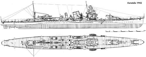 IJN Furutaka (Heavy Cruiser) (1942)