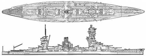 IJN Fuso (Battleship) (1942)