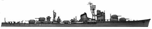 IJN Fuyutsuki (Destroyer) (1944)