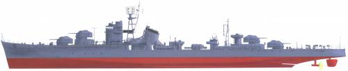 IJN Fuyutsuki [Destroyer] (1944)