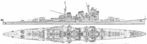IJN Haguro (Heavy Cruiser)