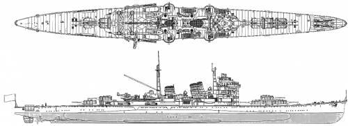 IJN Haguro (Heavy Cruiser) (1941)
