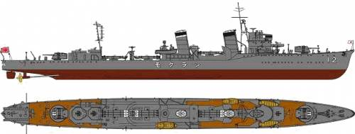 IJN Hakuun Type 700 I (Destroyer)