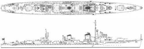 IJN Hamakaze (Destroyer)