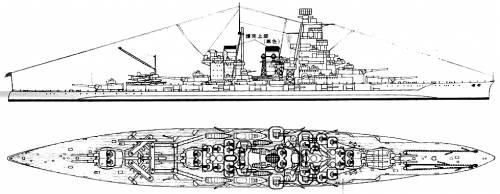 IJN Haruna (Battleship)