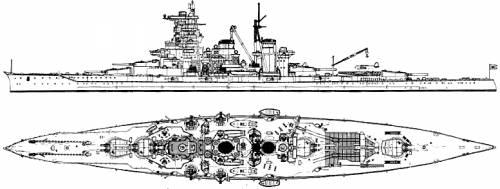 IJN Haruna (Battleship) (1944)