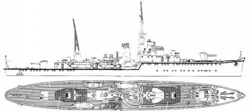 IJN Hashidate [Gunboat]