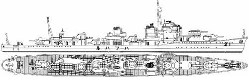 IJN Hatsuharu (Destroyer) (1933)