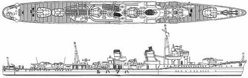 IJN Hatsuharu (Destroyer) (1941)