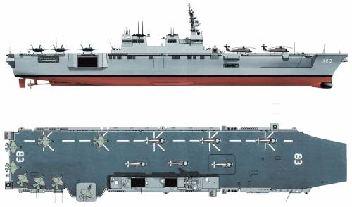 JMSDF Asahi DDH-183 (Helicopter Carrier)