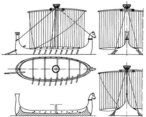 Ancient Phoenician Ship