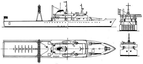 AR Zeltin (Repair Ship) Lybia (1968)