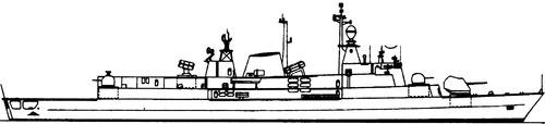 ARA Almirante Brown (MEKO 360 H2 Frigate)