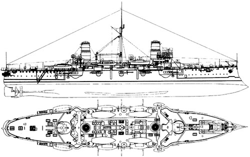 ARA General Belgrano (Armored Cruiser) (1910)