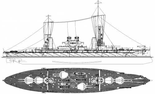 ARA Moreno [Battleship] (1915)