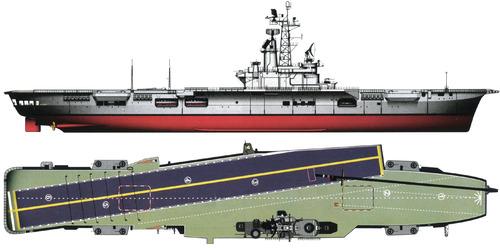 ARA Veinticinco de Mayo V-2 (Aircraft Carrier ex HMS Venerable ex HNLMS Karel Doorman)