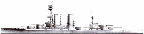 BACH Almirante Latorre (Battleship) - Chile (1920)