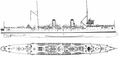BAP Almirante Grau [Scout Cruiser ] - Peru (1907)