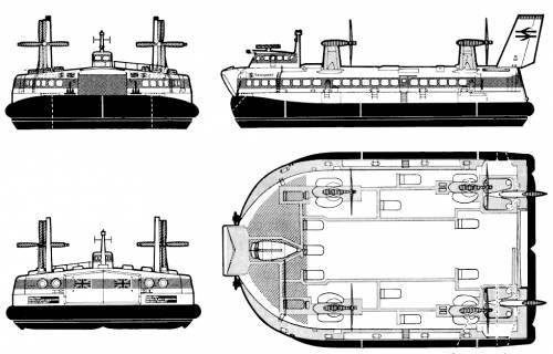 BHC SR.N4 Hovercraft