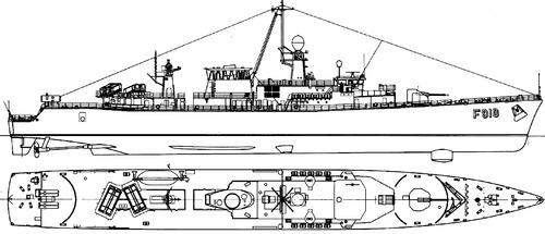 BNS Wielingen F910 (Frigate) - Belgium