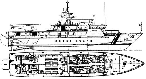 BRP San Juan, SARV 001 (Patrol Boat)
